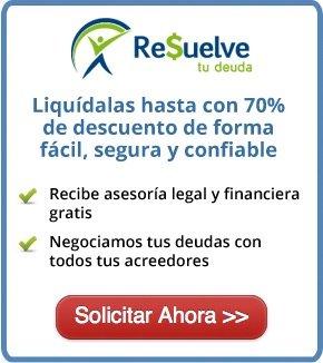 Ayuda para resolver tus deudas